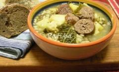 rustica zuppa farro salsiccia