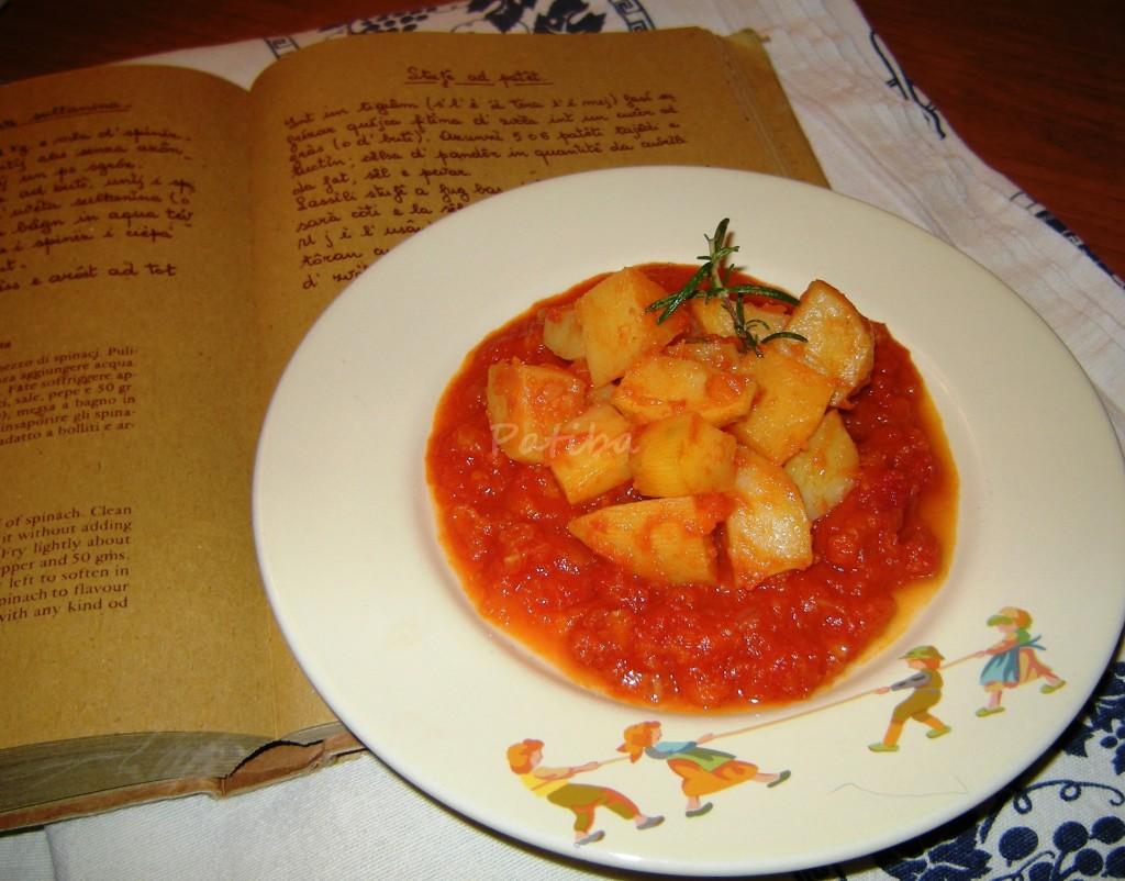 Stufê ad patêt, Stufato di patate alla romagnola