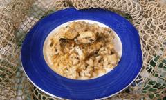 Risotto de Gò: dalla laguna di Venezia ecco il pesce Go per un risotto dal gusto delicato