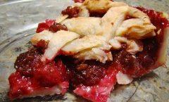 Torta di prugne fresche e cannella