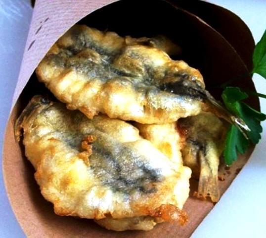 Sarde fritte e marinate