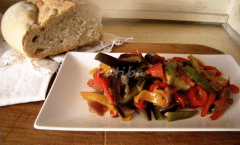 Fricò ovvero Pici Paci o Fricandò di verdure alla romagnola