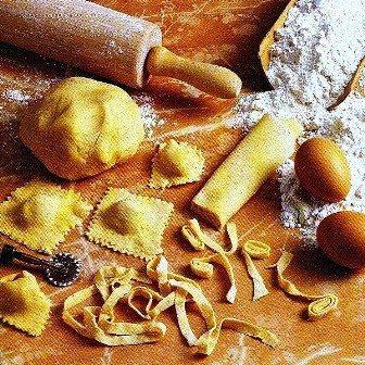 Pasta ripena i ravioli dell'Angela della Petronilla