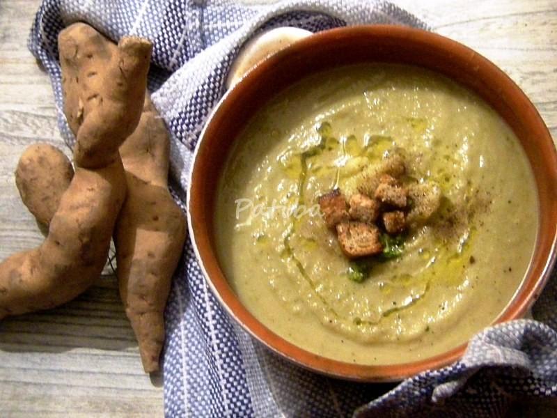 Crema di patate americane con i broccoli ieri oggi in for Patate dolci americane