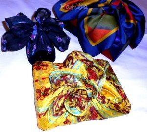 Come confezionare regali con foulard
